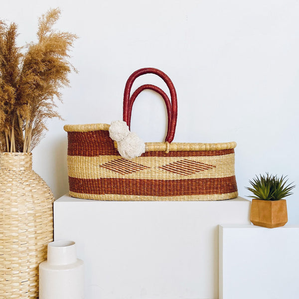 Copper Sun<br>P+S Signature Collection<br>African Moses Basket