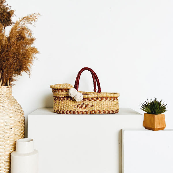 Elm Tree<br>P+S Signature Collection<br>Mini Moses Basket