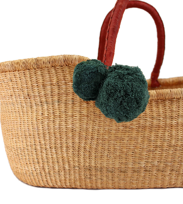 Classic Pom Set<br>Forrest Green