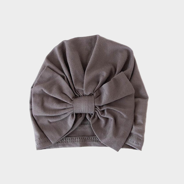 Bow Cap<br>Stone Grey