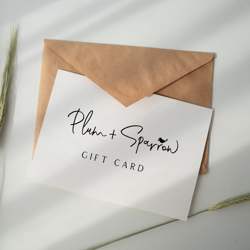Plum+Sparrow Gift Card