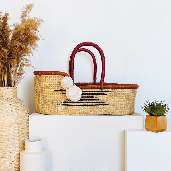 Maple<br>P+S Signature Collection<br>African Moses Basket