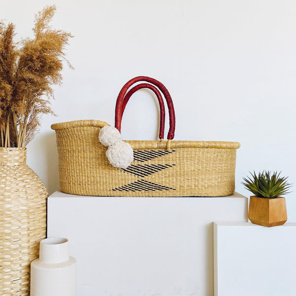 Oak<br>Perfectly Imperfect<br> African Moses Basket