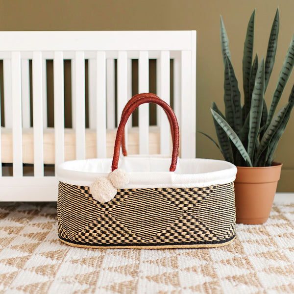 Larksong<br>P+S Signature Collection<br>No Hood<br>African Moses Basket
