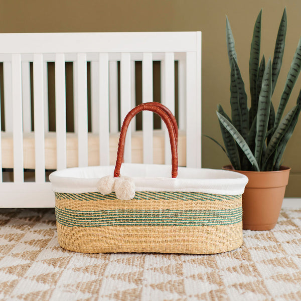 Seabrook<br>P+S Signature Collection<br>No Hood<br>African Moses Basket