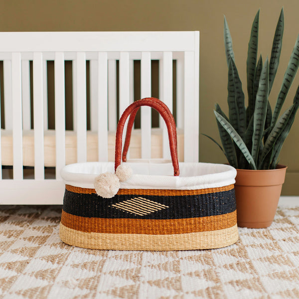 Harvest<br>P+S Signature Collection<br>No Hood<br>African Moses Basket