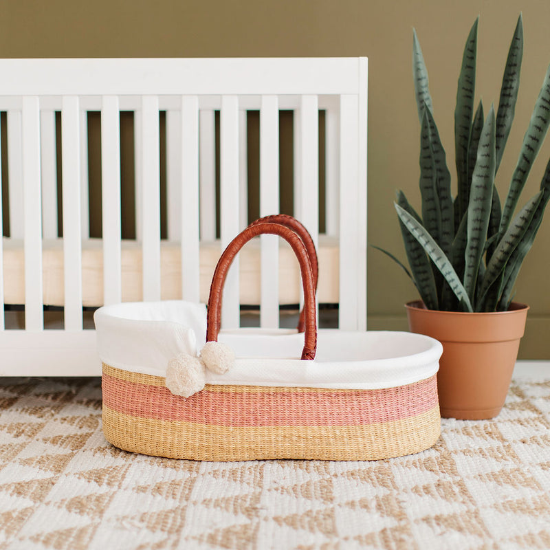 Wildflower<br>Perfectly Imperfect<br> African Moses Basket