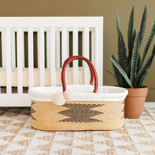 Aspen<br>P+S Signature Collection<br>No Hood<br>African Moses Basket