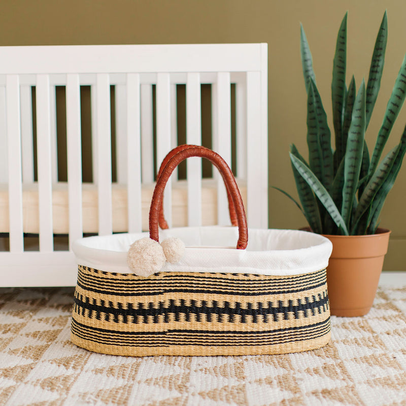 Remy<br>P+S Signature Collection<br>No Hood<br>African Moses Basket