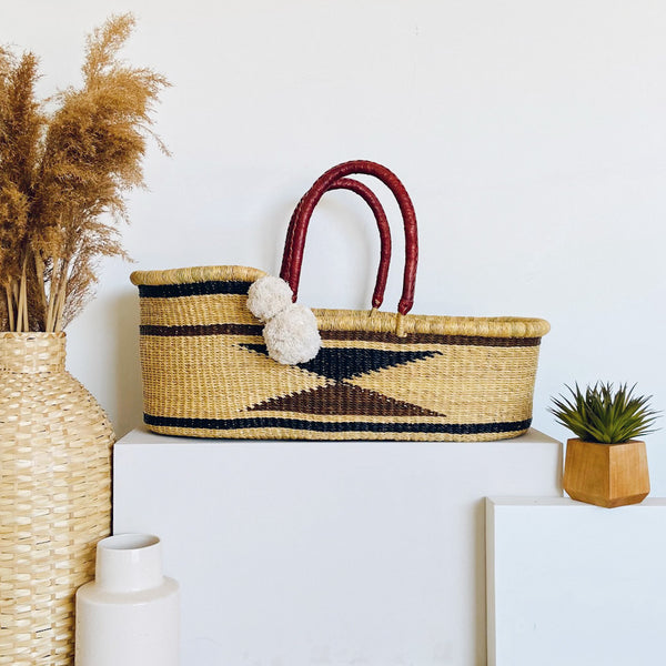 Sienna Sky<br>Perfectly Imperfect<br> African Moses Basket