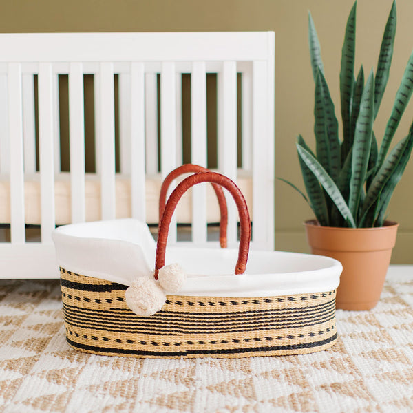 Spring Sparrow<br>P+S Signature Collection<br>African Moses Basket