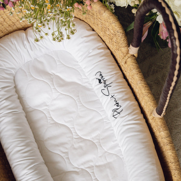 Crisp White<br>Nest Lounger Cover