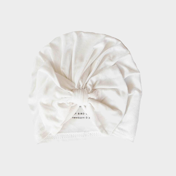 Bow Cap<br>Bright White