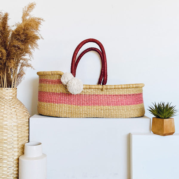 Wildflower<br>P+S Signature Collection<br>African Moses Basket