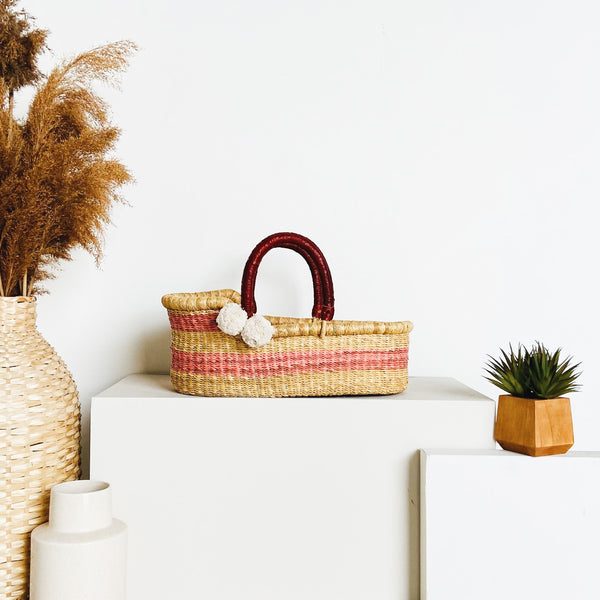 Wildflower<br>P+S Signature Collection<br>Mini Moses Basket