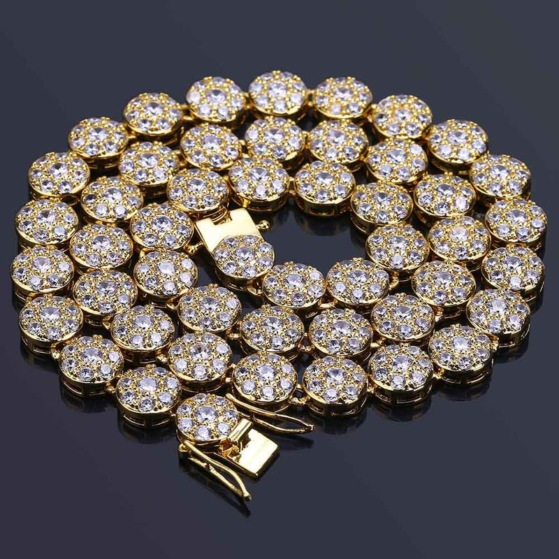 10mm Hip Hop Round Tennis Chain