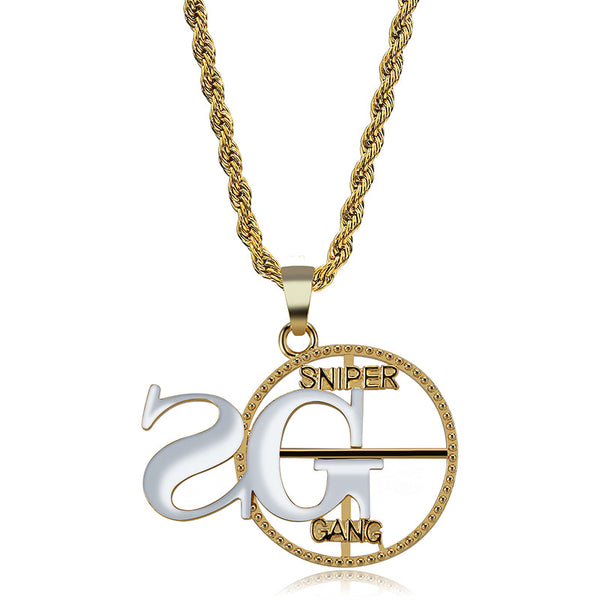 2G Sniper Gang Pendant Necklace