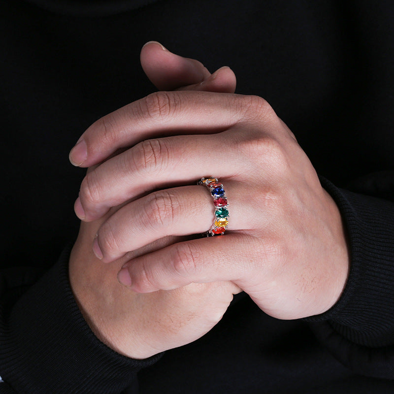 Rainbow Hiphop Ring