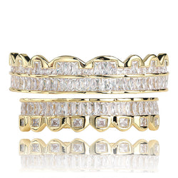8pcs Bottom Teeth Grills