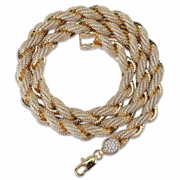8mm Twisted Rope Chain