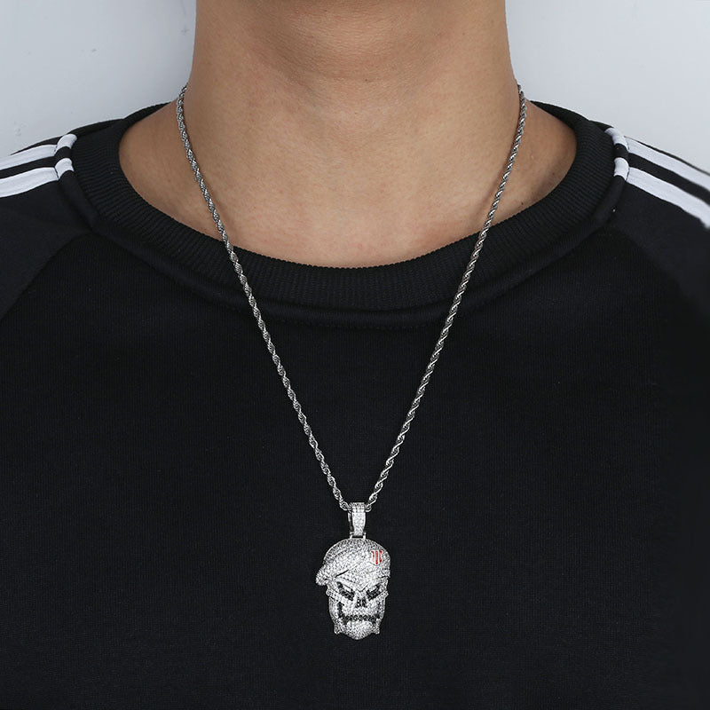 Call Of Duty Lil Yachty Ghost Hip Hop Pendant