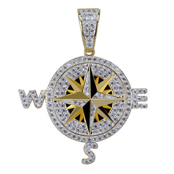 Point the Way Compass Discovery Sailing Pendant