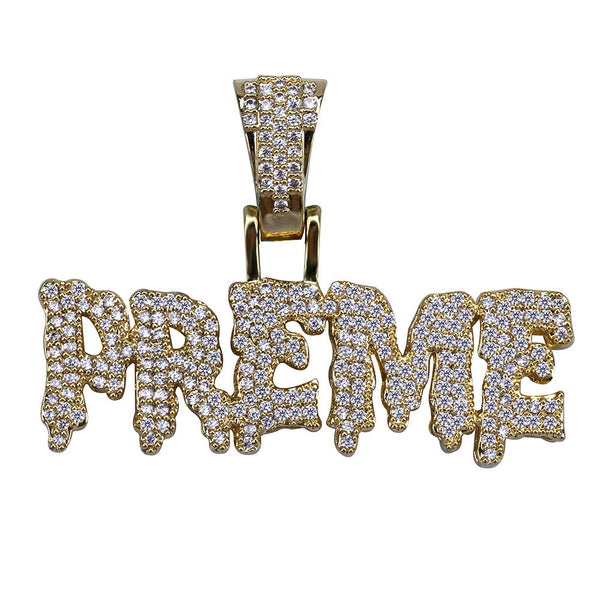 Dripping Letter PREME Pendant