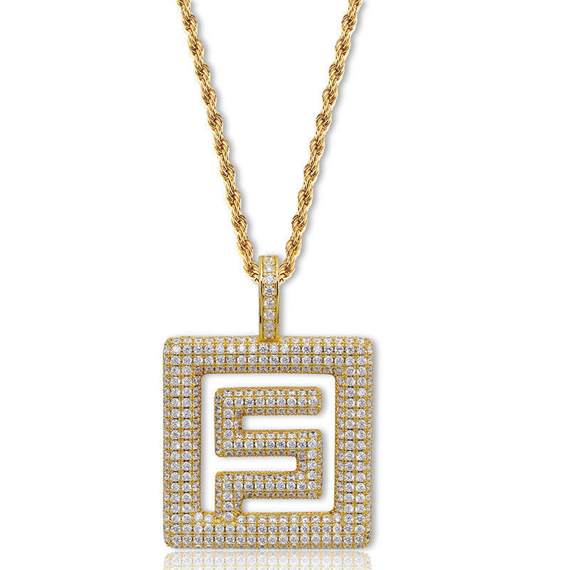 Migos Solid Fundation Pendant