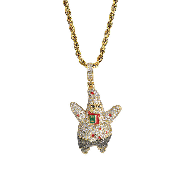 Patrick Star Pendant Necklace