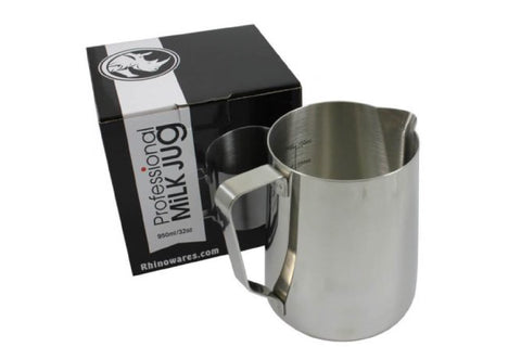 Rhino Coffee Gear Professional Milk Pitcher 950ml (32oz)
