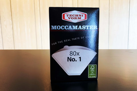 Moccamaster Paper Filters #1 (80 Pack)