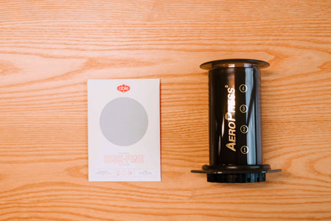 AeroPress + Reusable Metal Filter Bundle