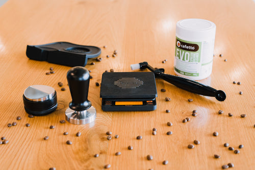 Espresso Essentials: Scales, tamper, distribution tool & more! Worth $320+