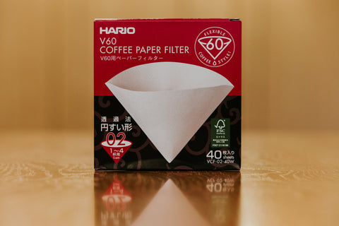Hario V60 Paper Filters #02 (40 Pack)