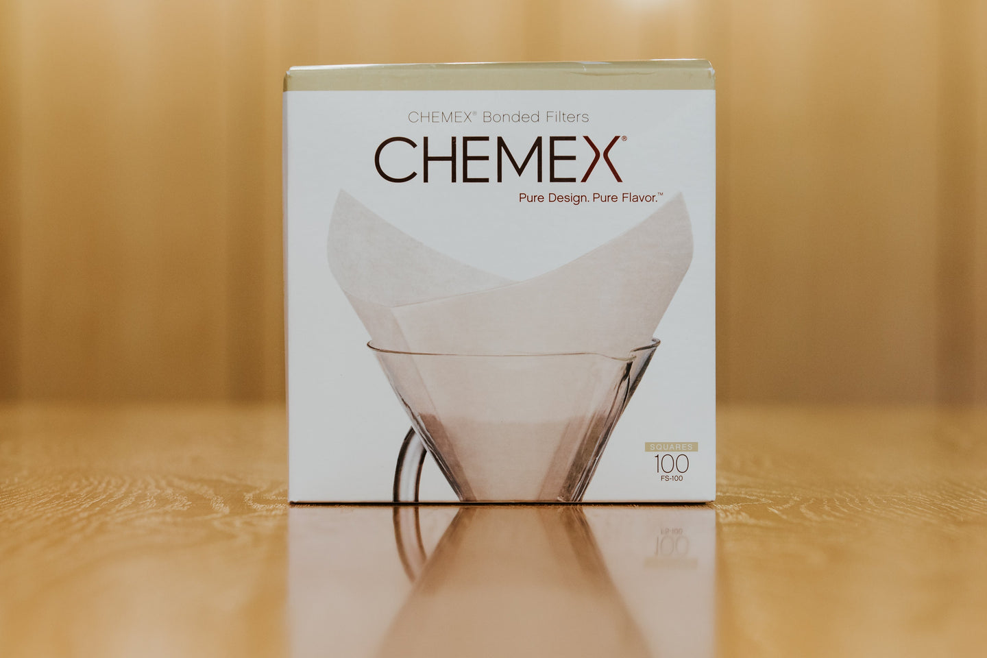 Chemex Square Filters for 6, 8, and 10 cup.