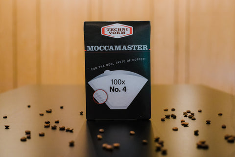 Moccamaster Paper Filters #4 (100 Pack)