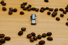 Load image into Gallery viewer, AeroPress - coffee themed enamel pin.
