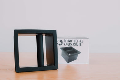 Rhino Coffee Gear Square In-Bench Knock Chute