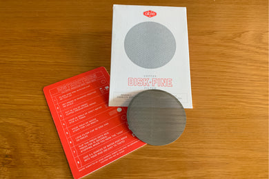 Able Reusable Stainless Steel Brewing Disk for AeroPress