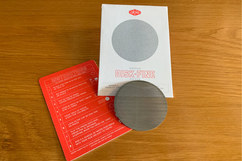 Able Reusable Stainless Steel Brewing Disk Set: Standard & Fine disks for AeroPress
