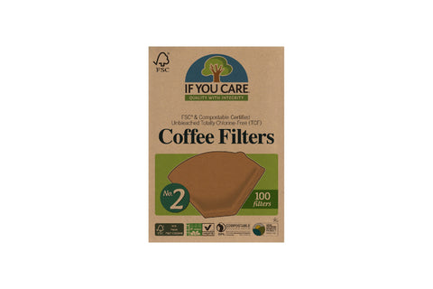 If You Care Filter Papers #2 (100 Pack)