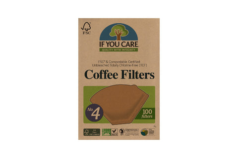 If You Care Filter Papers #4 (100 Pack)