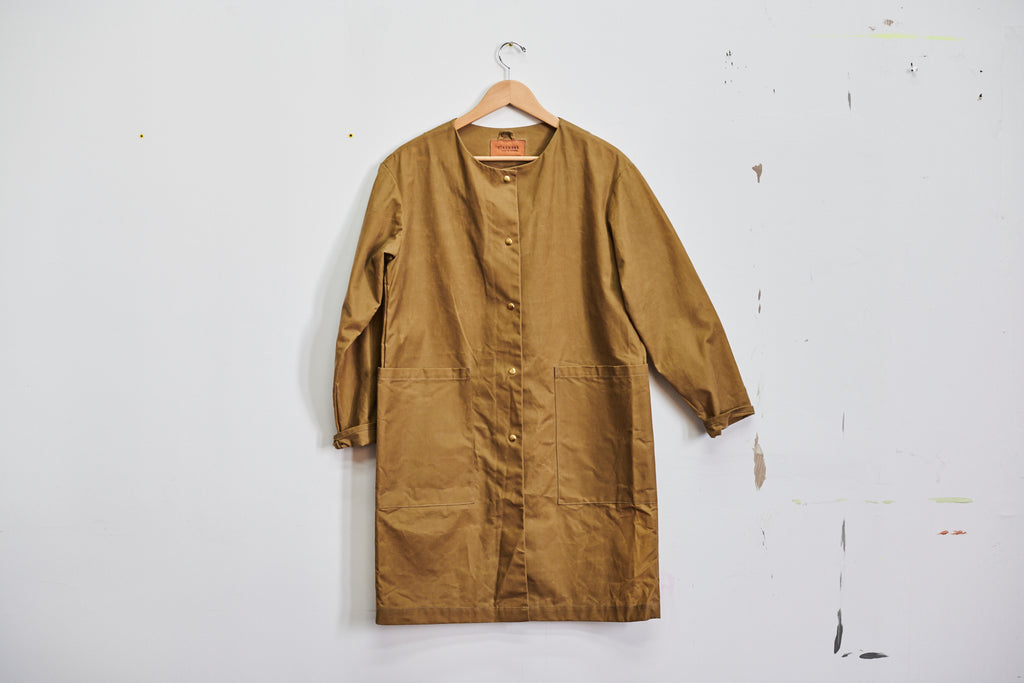 Collarless Rain Trench