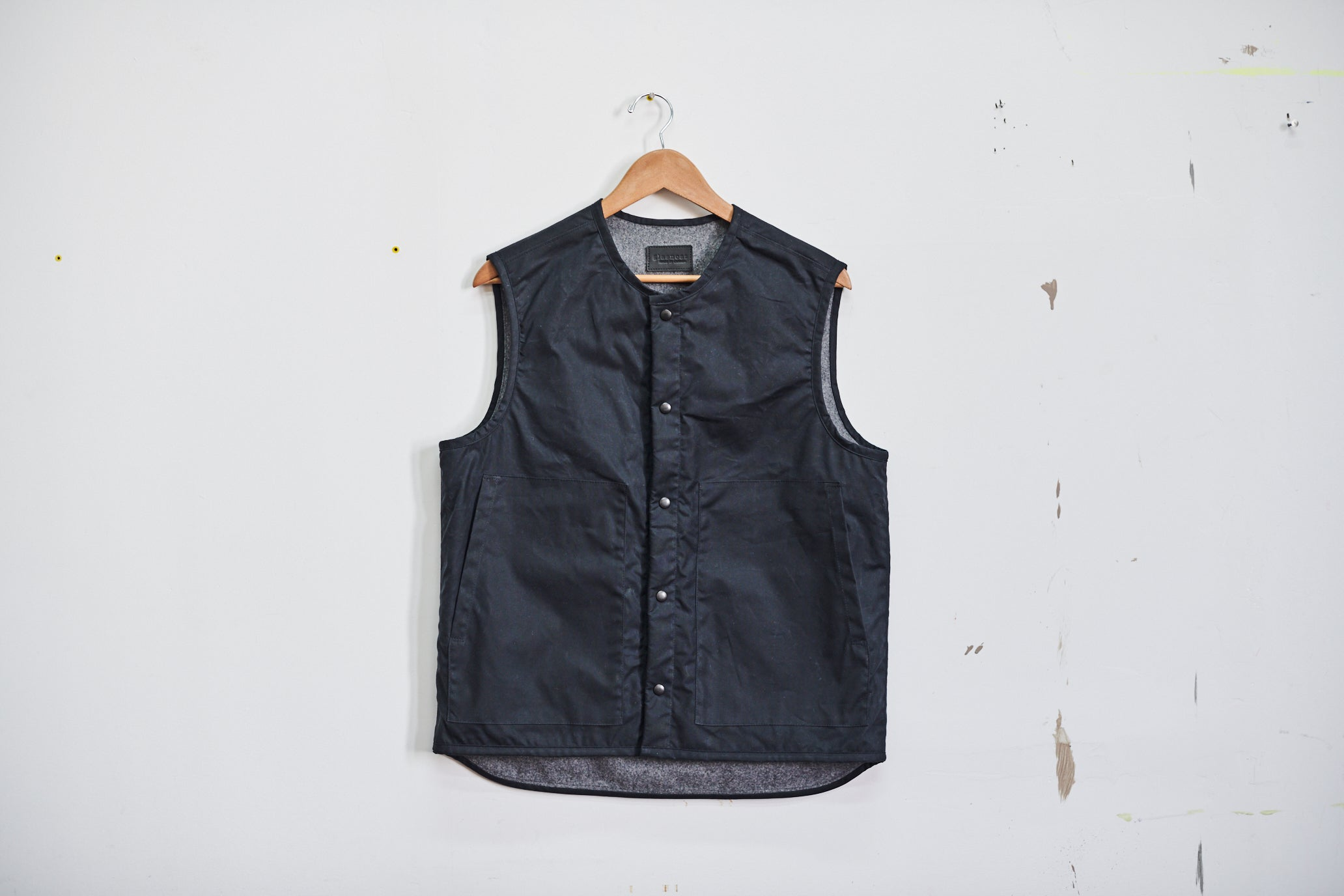 Wax and Wool Vest
