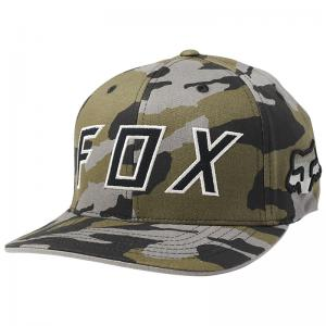 GORRA FOX FLEXFIT SCRAMBLE CAMO - Brotherhood Biker Store