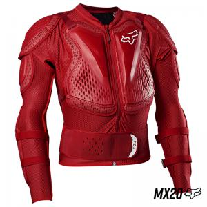 Protector  Fox Titan Sport Jacket Rojo Flama - Brotherhood Biker Store