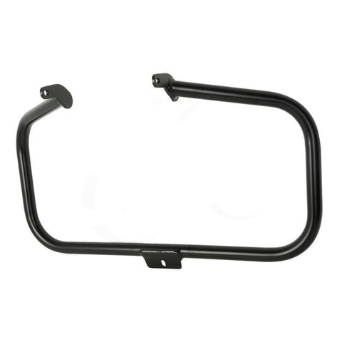 Defensa de motor para motos HD Softails 2000-2016 Negra Cuadrada - Brotherhood Biker Store