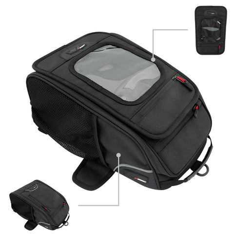 TRANS CANADA TANK BAG-SCREEN COMBO - Brotherhood Biker Store