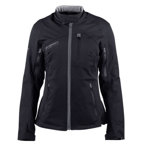 Chamarra Joe Rocket Pacifica Dama Negro - Brotherhood Biker Store