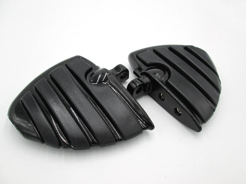 Posapies para motos Negro Chopper (Jgo)